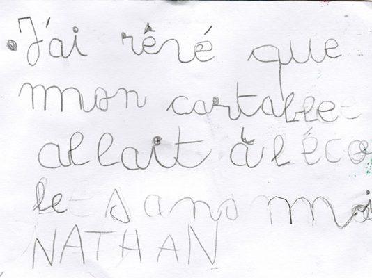 Nathan 1er de la catégorie 6-8 ans