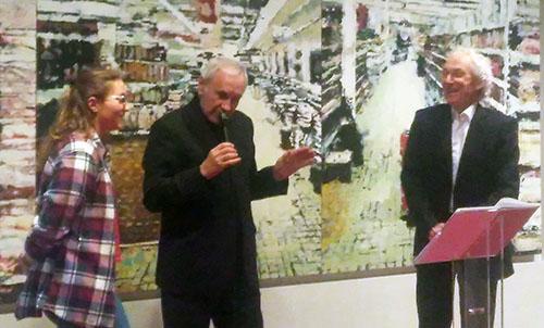 Patrice Laffont et Bernard Bouvet à la cérémonie de remise des prix